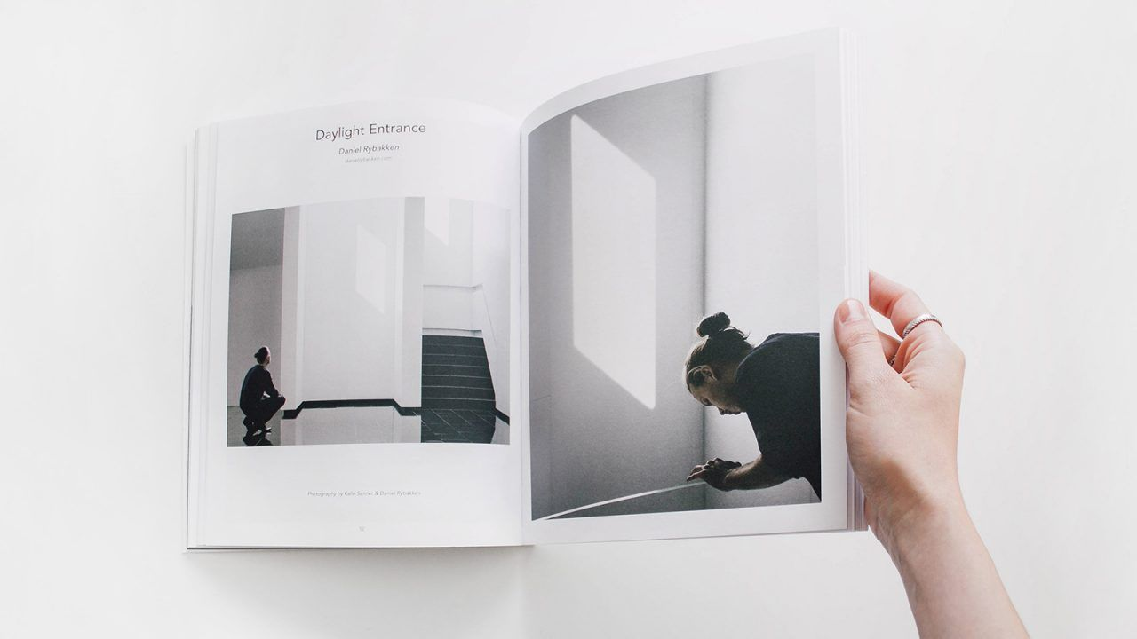 Reading Minimalissimo Mag on a Calm Afternoon
